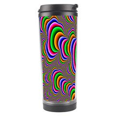Fractal Background Pattern Color Travel Tumbler by Celenk