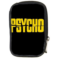 Psycho  Compact Camera Cases by Valentinaart