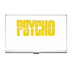 Psycho  Business Card Holders by Valentinaart