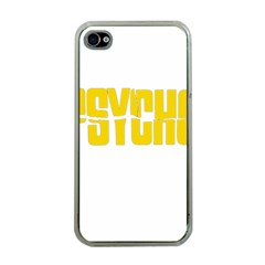 Psycho  Apple Iphone 4 Case (clear) by Valentinaart