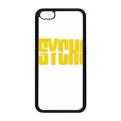 Psycho  Apple Iphone 5c Seamless Case (black)
