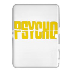 Psycho  Samsung Galaxy Tab 4 (10 1 ) Hardshell Case  by Valentinaart