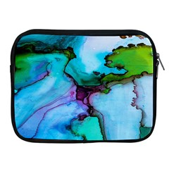 Abstract Painting Art Apple Ipad 2/3/4 Zipper Cases