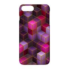 Cube Surface Texture Background Apple Iphone 8 Plus Hardshell Case