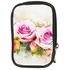 Flower Roses Art Abstract Compact Camera Cases by Celenk