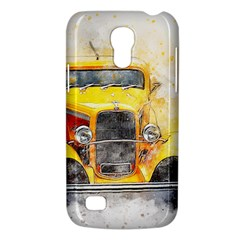 Car Old Art Abstract Galaxy S4 Mini by Celenk