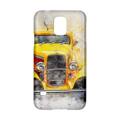 Car Old Art Abstract Samsung Galaxy S5 Hardshell Case  by Celenk