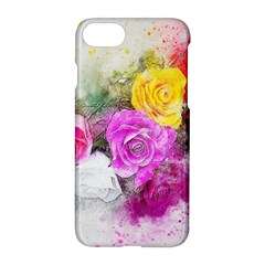 Flowers Bouquet Art Abstract Apple Iphone 8 Hardshell Case by Celenk