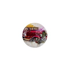 Car Old Car Art Abstract 1  Mini Magnets by Celenk