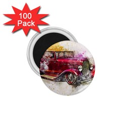 Car Old Car Art Abstract 1 75  Magnets (100 Pack)  by Celenk