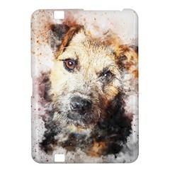 Dog Animal Pet Art Abstract Kindle Fire Hd 8 9