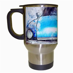 Car Old Car Art Abstract Travel Mugs (white) by Celenk