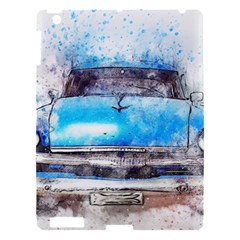 Car Old Car Art Abstract Apple Ipad 3/4 Hardshell Case by Celenk