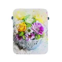 Flowers Vase Art Abstract Nature Apple Ipad 2/3/4 Protective Soft Cases by Celenk