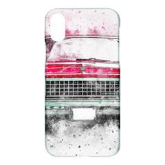 Car Old Car Art Abstract Apple Iphone X Hardshell Case by Celenk