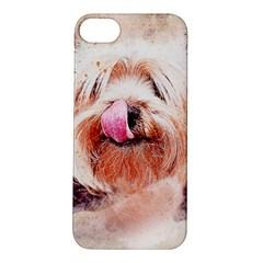 Dog Animal Pet Art Abstract Apple Iphone 5s/ Se Hardshell Case by Celenk