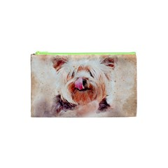 Dog Animal Pet Art Abstract Cosmetic Bag (xs) by Celenk