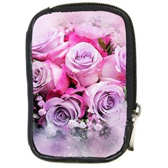 Flowers Roses Bouquet Art Abstract Compact Camera Cases by Celenk