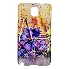 Fruit Plums Art Abstract Nature Samsung Galaxy Note 3 N9005 Hardshell Case by Celenk