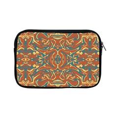 Multicolored Abstract Ornate Pattern Apple Ipad Mini Zipper Cases