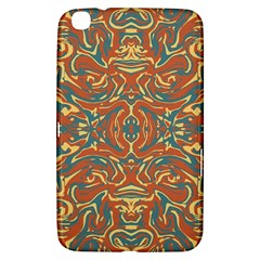 Multicolored Abstract Ornate Pattern Samsung Galaxy Tab 3 (8 ) T3100 Hardshell Case  by dflcprints