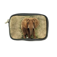 Elephant Animal Art Abstract Coin Purse by Celenk