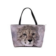 Leopard Art Abstract Vintage Baby Shoulder Handbags by Celenk
