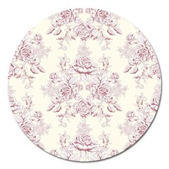 French Chic Magnet 5  (round) by 8fugoso