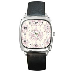 French Chic Square Metal Watch by 8fugoso