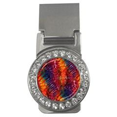 Vibrant Hippy Tye Dye Money Clips (cz)  by KirstenStar