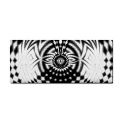 Ornaments Pattern Black White Cosmetic Storage Cases by Cveti
