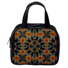 Tapestry Pattern Classic Handbags (one Side) by linceazul