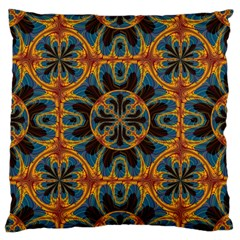 Tapestry Pattern Large Cushion Case (one Side) by linceazul