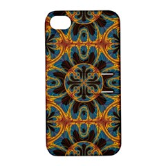Tapestry Pattern Apple Iphone 4/4s Hardshell Case With Stand by linceazul