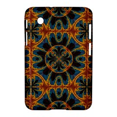 Tapestry Pattern Samsung Galaxy Tab 2 (7 ) P3100 Hardshell Case  by linceazul