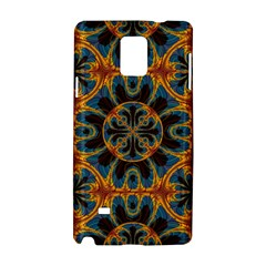 Tapestry Pattern Samsung Galaxy Note 4 Hardshell Case by linceazul