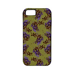 Green Purple And Orange Pear Blossoms  Apple Iphone 5 Classic Hardshell Case (pc+silicone) by ssmccurdydesigns