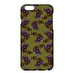 Green Purple And Orange Pear Blossoms  Apple Iphone 6 Plus/6s Plus Hardshell Case by ssmccurdydesigns