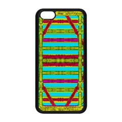Gift Wrappers For Body And Soul Apple Iphone 5c Seamless Case (black) by pepitasart