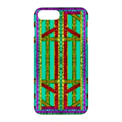 Gift Wrappers For Body And Soul In  A Rainbow Mind Apple Iphone 7 Plus Hardshell Case by pepitasart