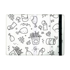 Set Chalk Out Scribble Collection Ipad Mini 2 Flip Cases by Celenk