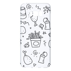 Set Chalk Out Scribble Collection Samsung Galaxy S8 Plus Hardshell Case  by Celenk