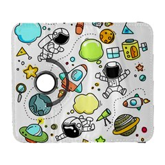 Sketch Set Cute Collection Child Galaxy S3 (flip/folio) by Celenk