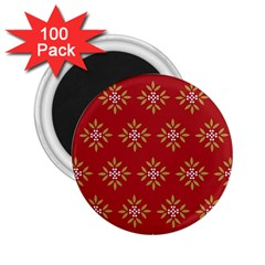 Pattern Background Holiday 2 25  Magnets (100 Pack)  by Celenk