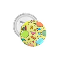 Cute Sketch Child Graphic Funny 1 75  Buttons by Celenk