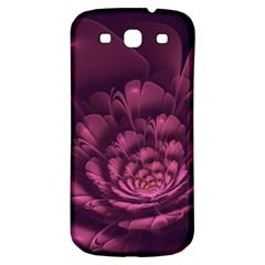 Fractal Blossom Flower Bloom Samsung Galaxy S3 S Iii Classic Hardshell Back Case by Celenk