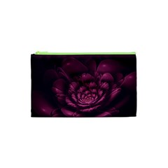 Fractal Blossom Flower Bloom Cosmetic Bag (xs) by Celenk