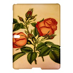 Vintage Flowers Floral Samsung Galaxy Tab S (10 5 ) Hardshell Case  by Celenk