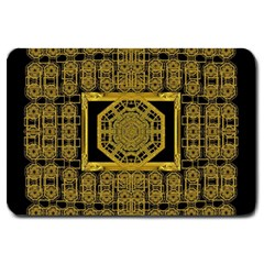 Beautiful Stars Would Be In Gold Frames Large Doormat