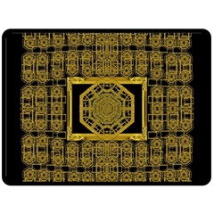 Beautiful Stars Would Be In Gold Frames Fleece Blanket (large)  by pepitasart